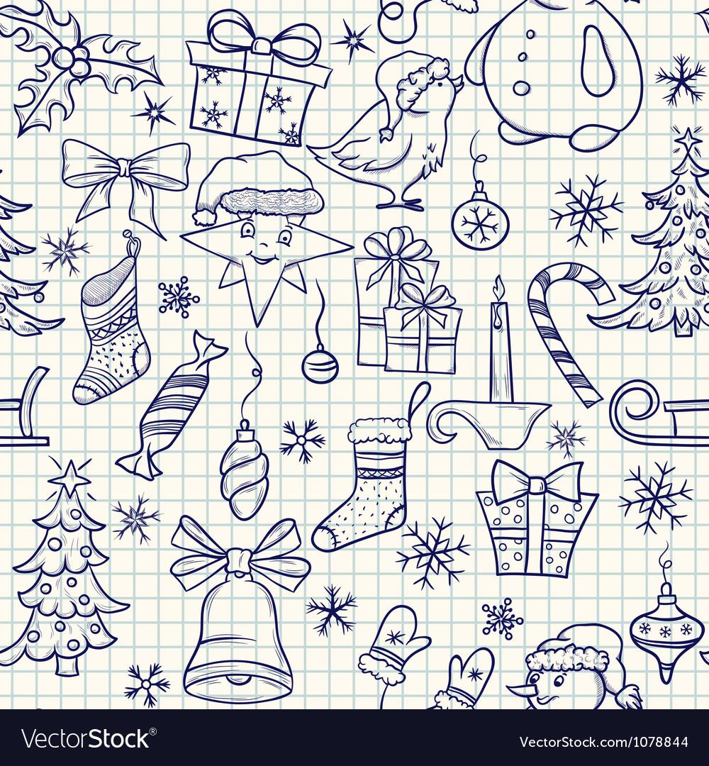ChristmasPadVS vector image