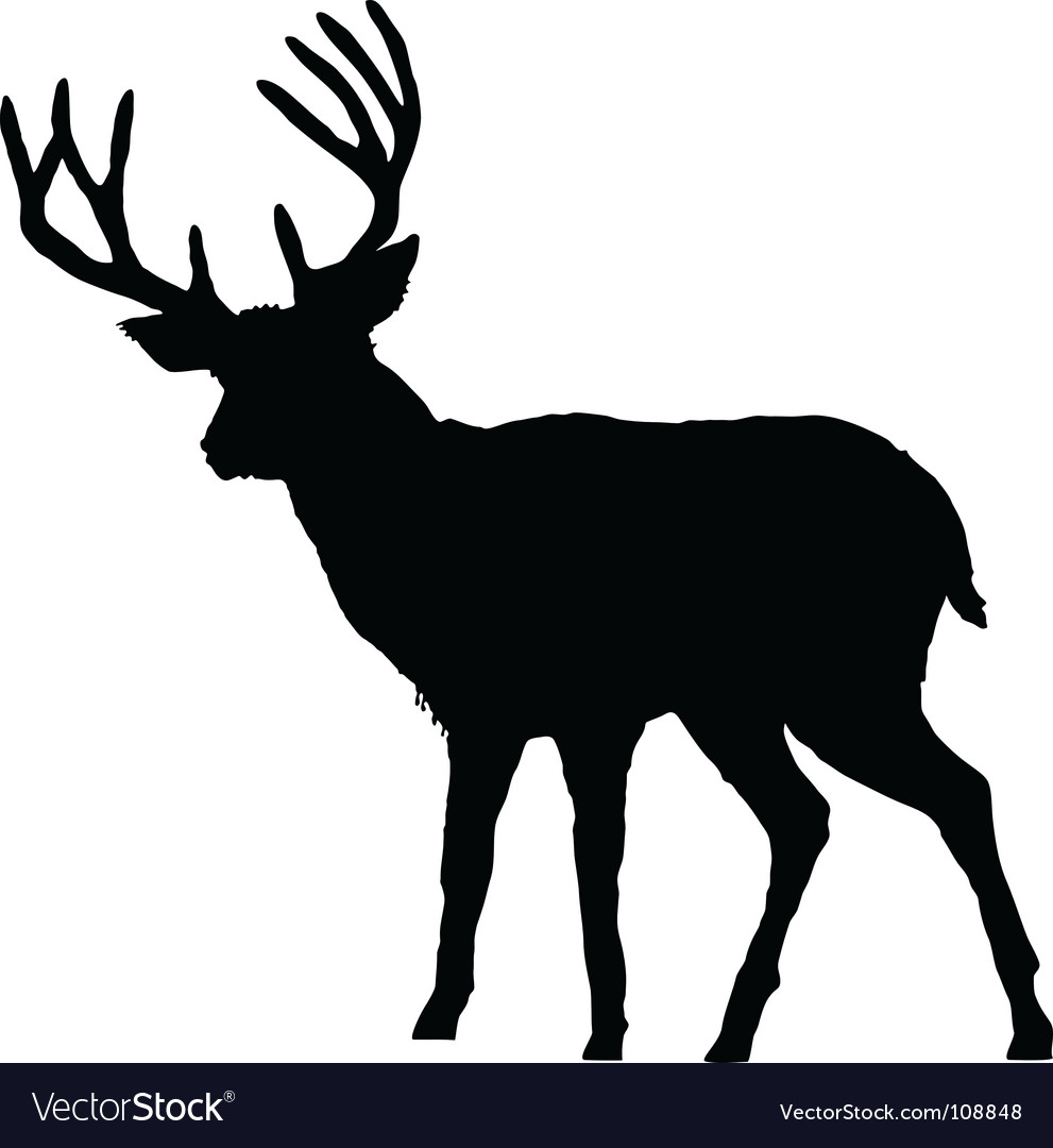 DEER SILHOUETTE PATTERNS   Free Vector Graphics free download and