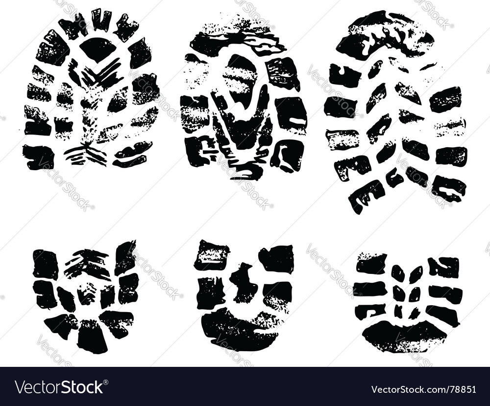 Set of black crosses stamps vector image