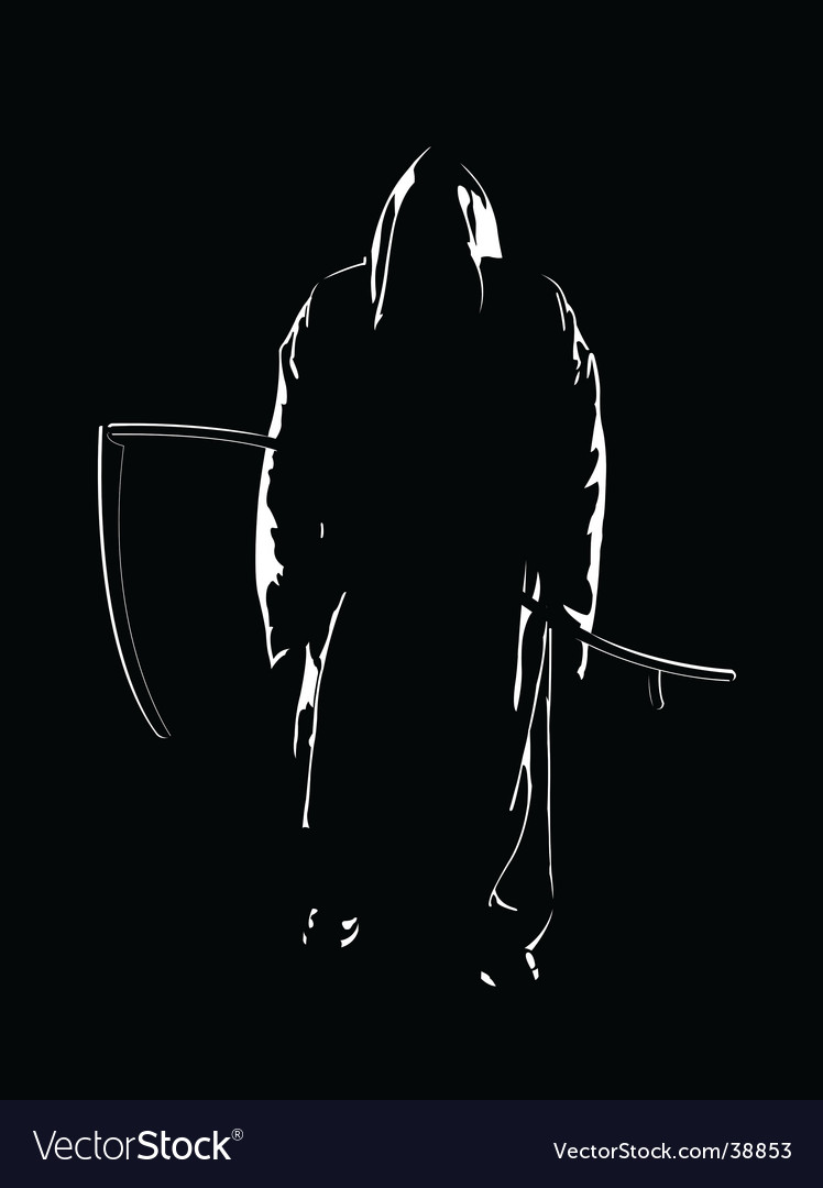 The reaper of souls vector image