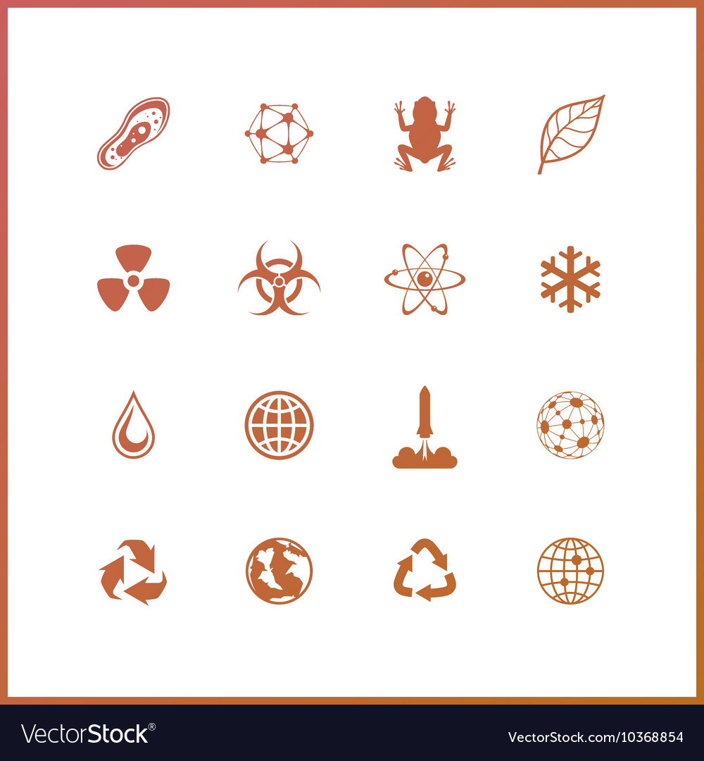 Space exploration Extraterrestrial life vector image