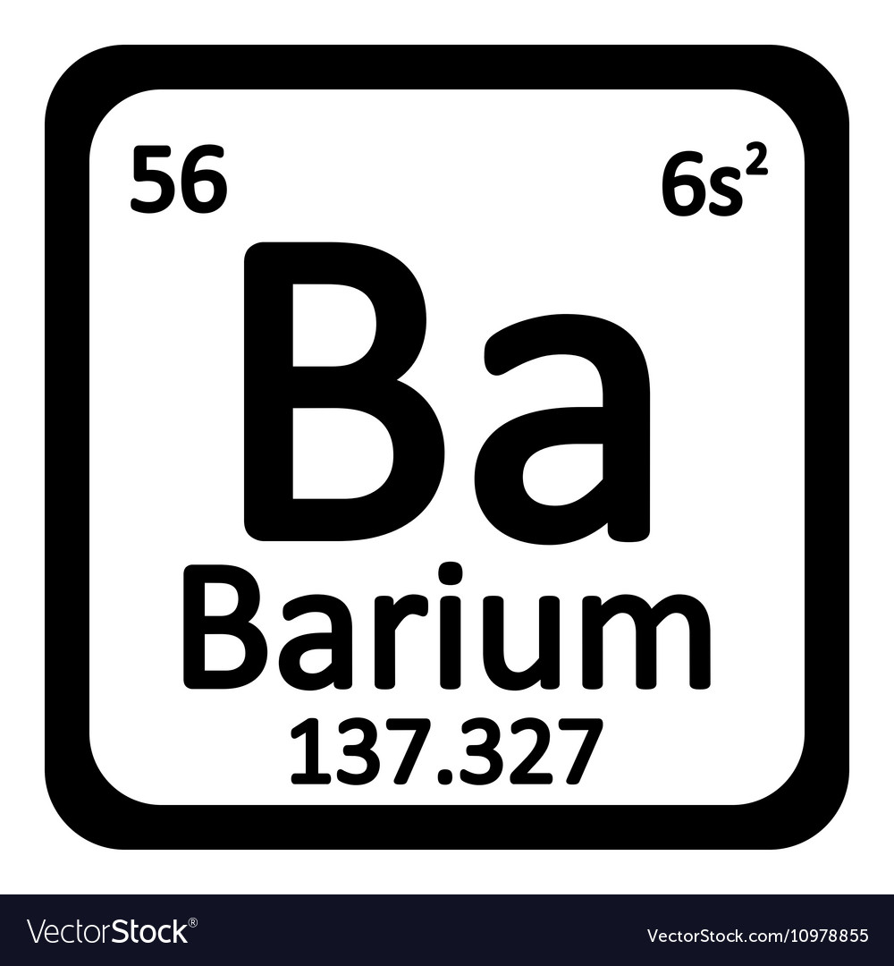 Periodic table element barium icon royalty free vector image periodic table element barium icon vector image biocorpaavc Images