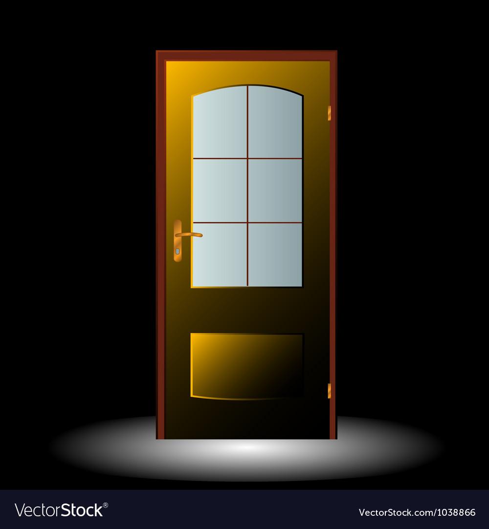 Door symbol vector image
