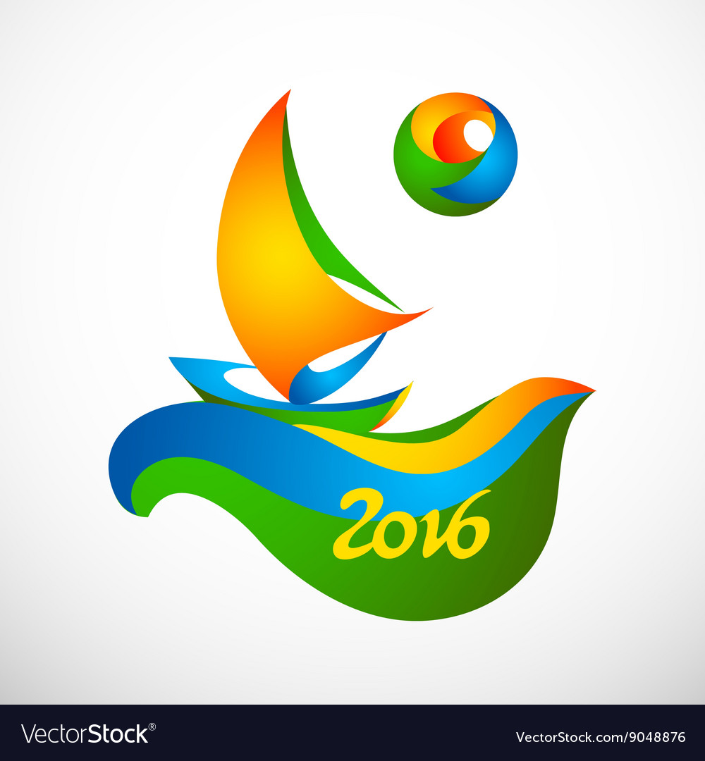 Sign rio olympic games 2016 royalty free vector image sign rio olympic games 2016 vector image biocorpaavc Images