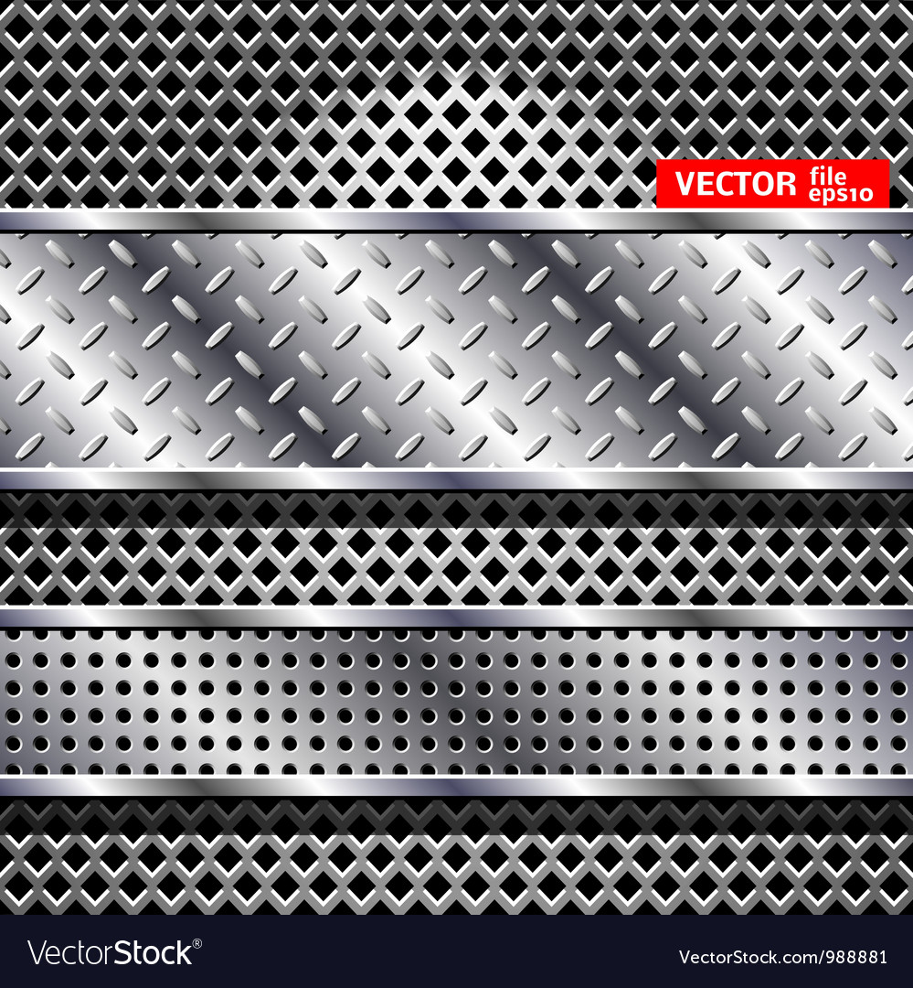 Abstract steel background vector image