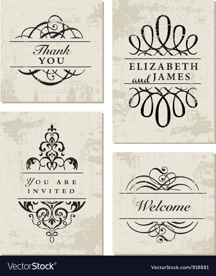 Vintage business cards royalty free vector image vintage business cards vector image magicingreecefo Gallery