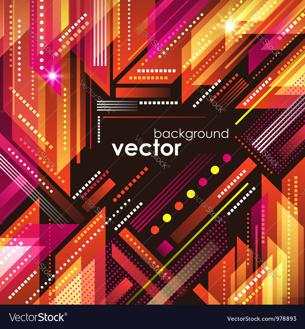 Abstract cityscape background vector image