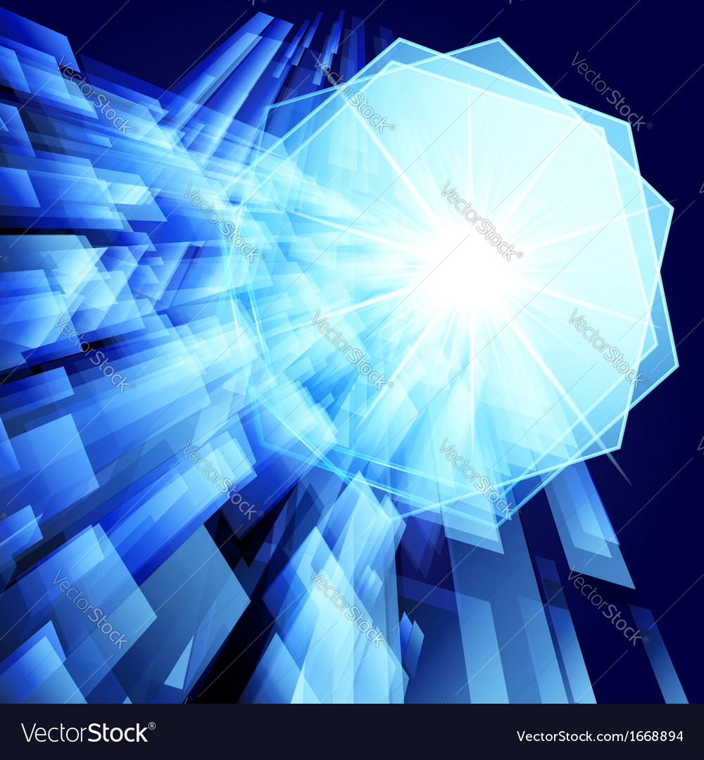 Abstract techno background Eps 10 vector image