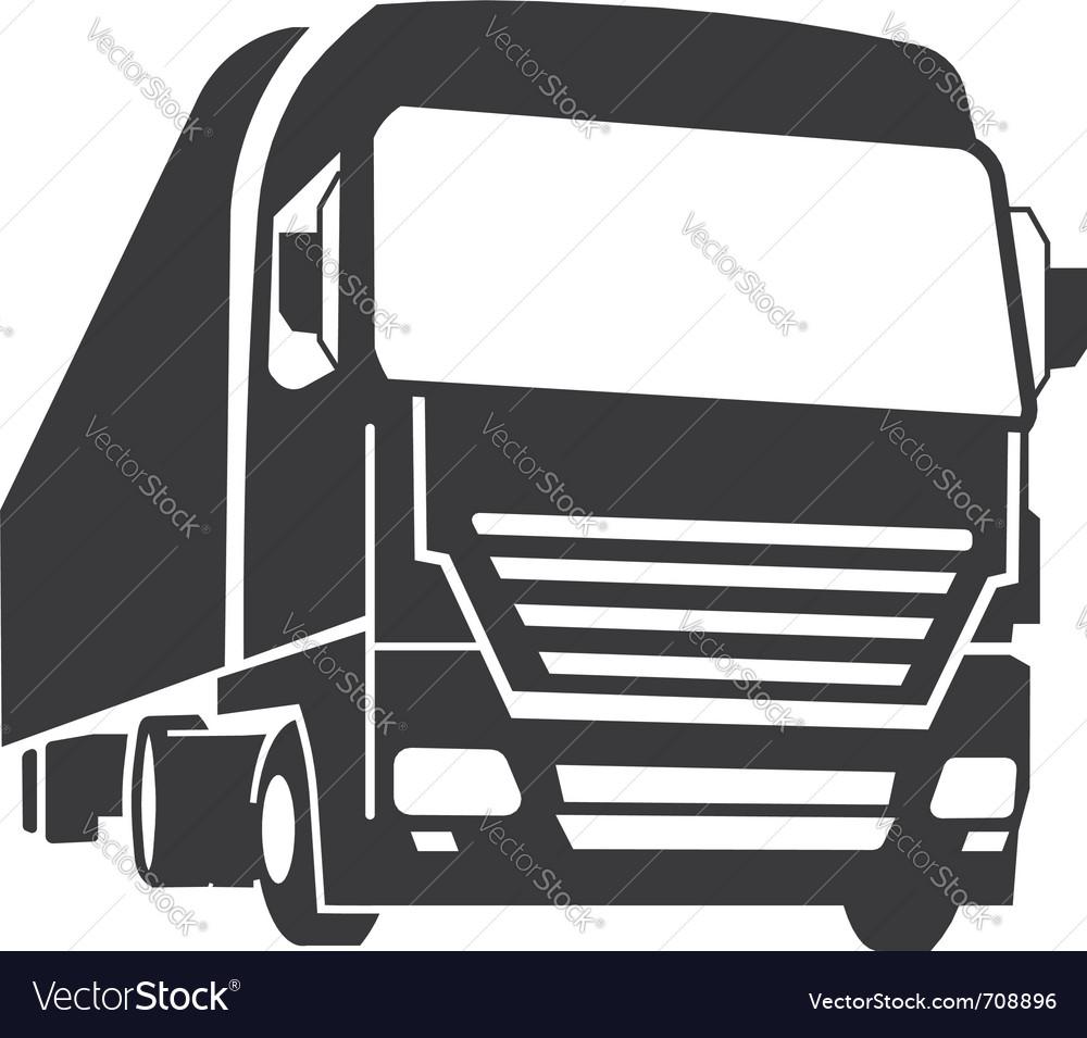 Truck Royalty Free Vector Image Vectorstock
