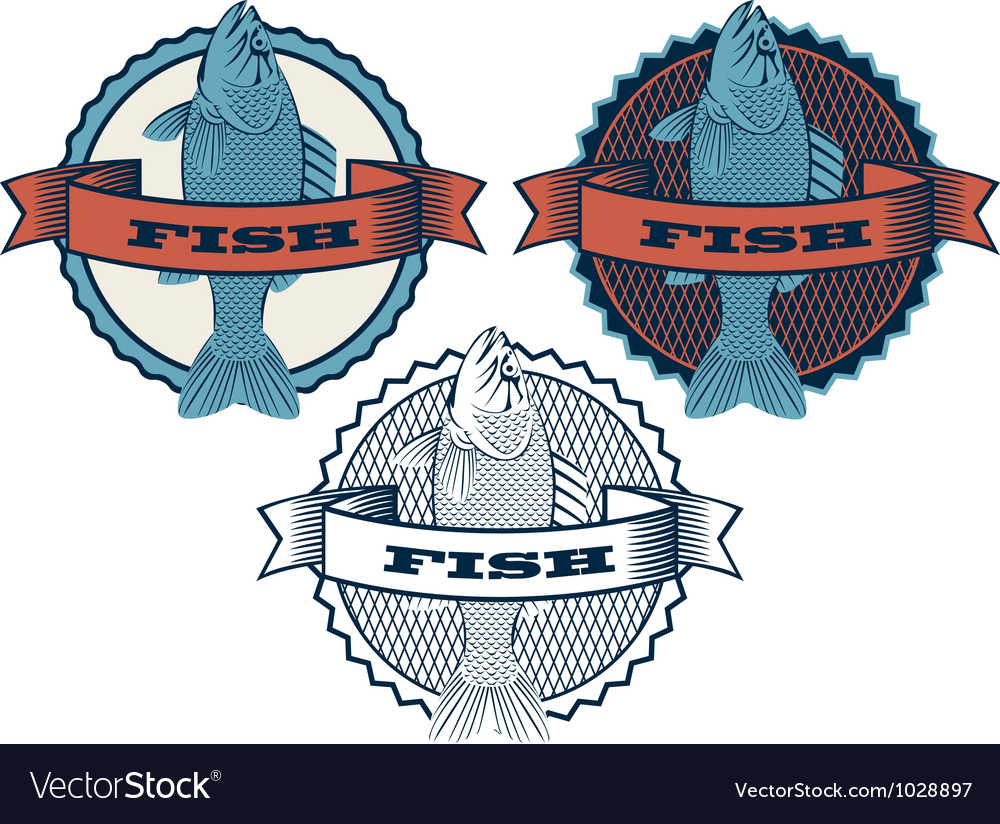 Range fish vector image