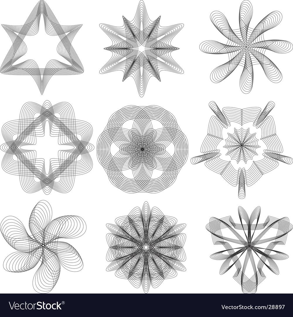 Pozetta vector image
