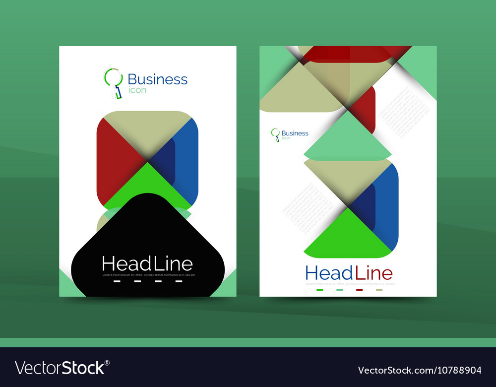 Business Company Profile Brochure Template Vector Image - Company profile brochure template