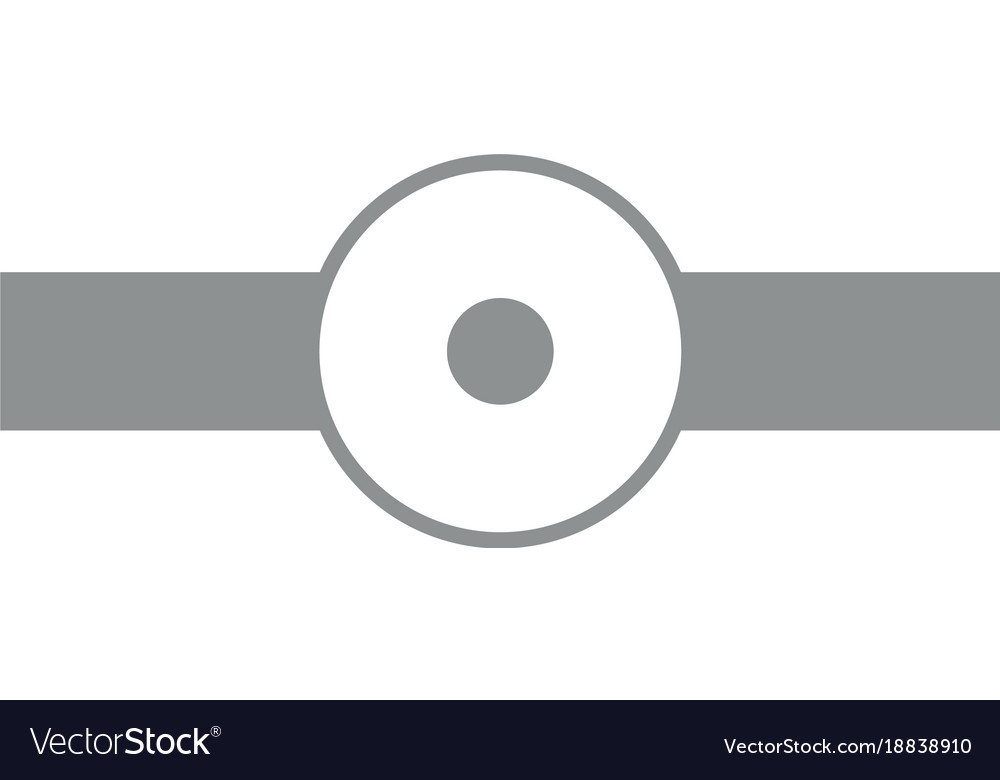 Simple doctor reflector vector image