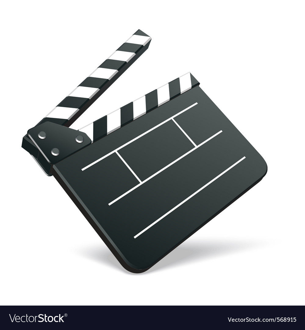 Film cinema icon vector image