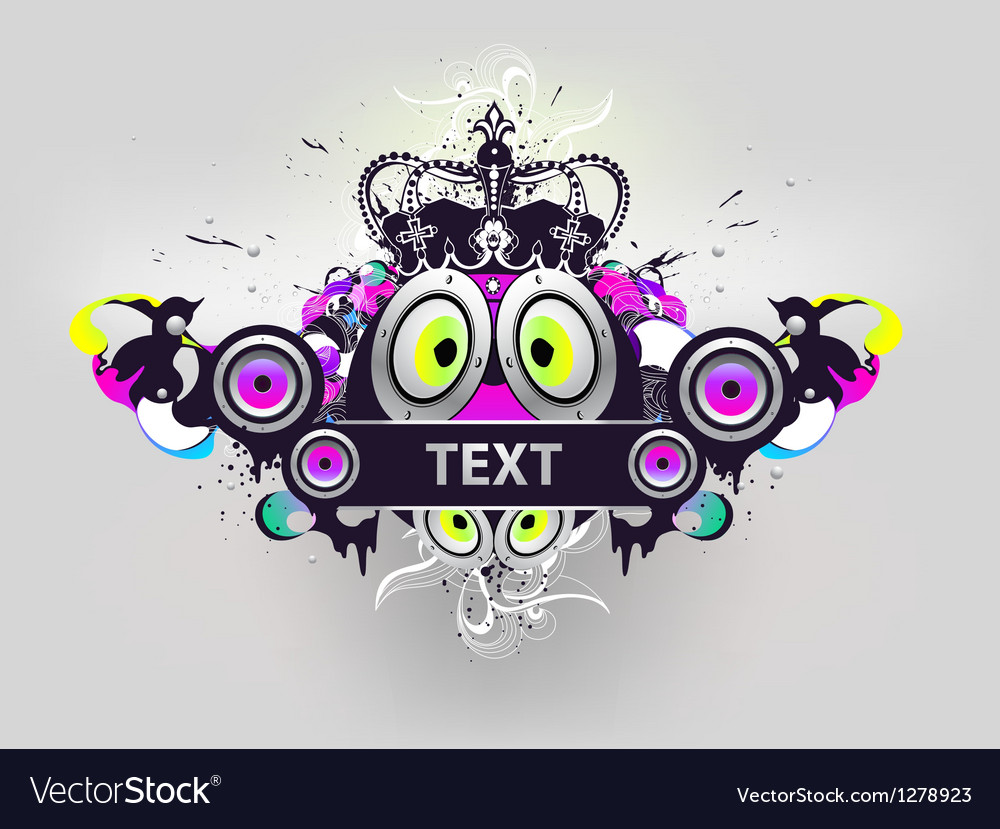 Royal party vector image