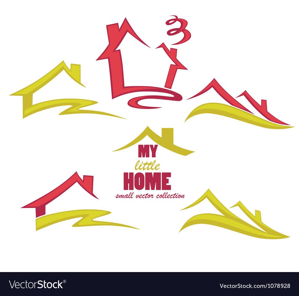Property symbols vector image