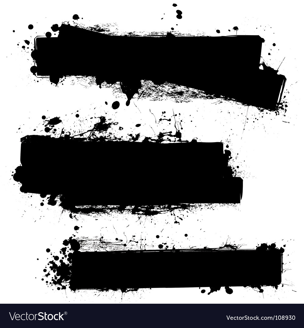 Grunge strips vector image