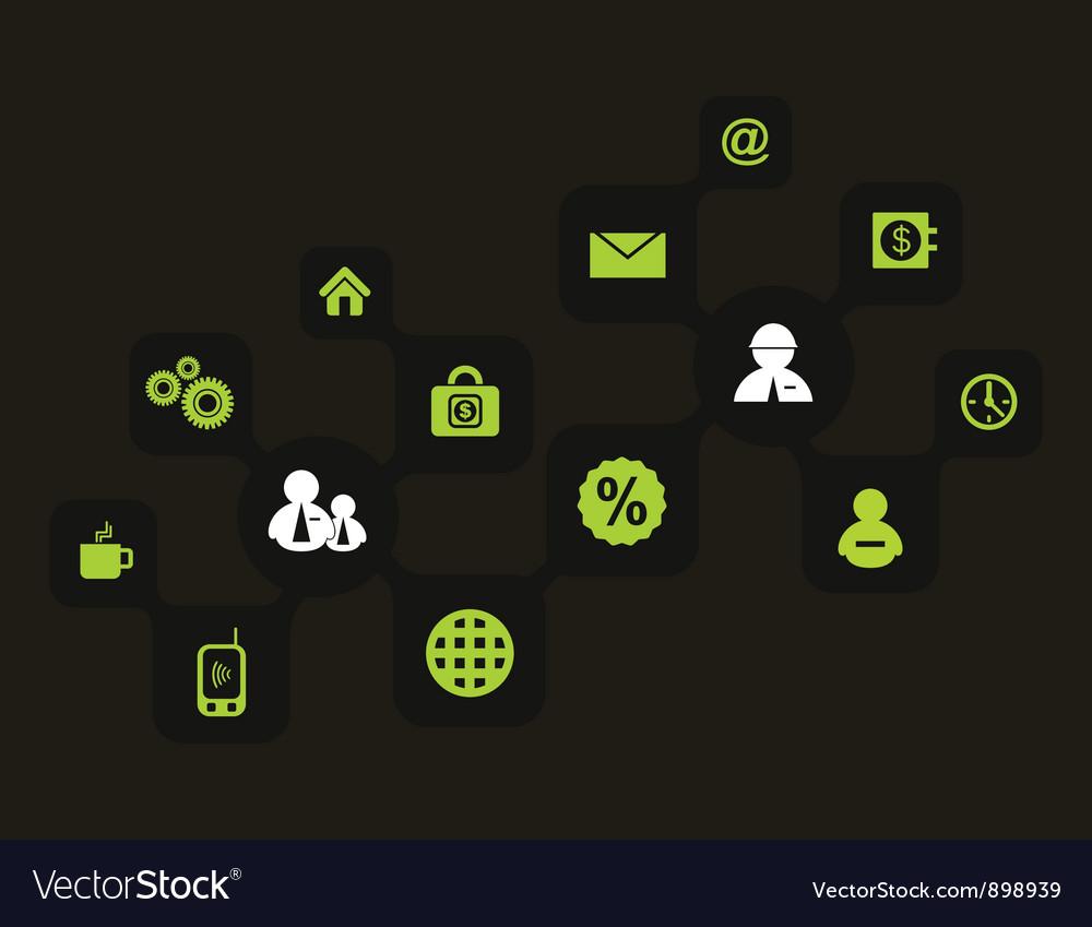 Global world vector image