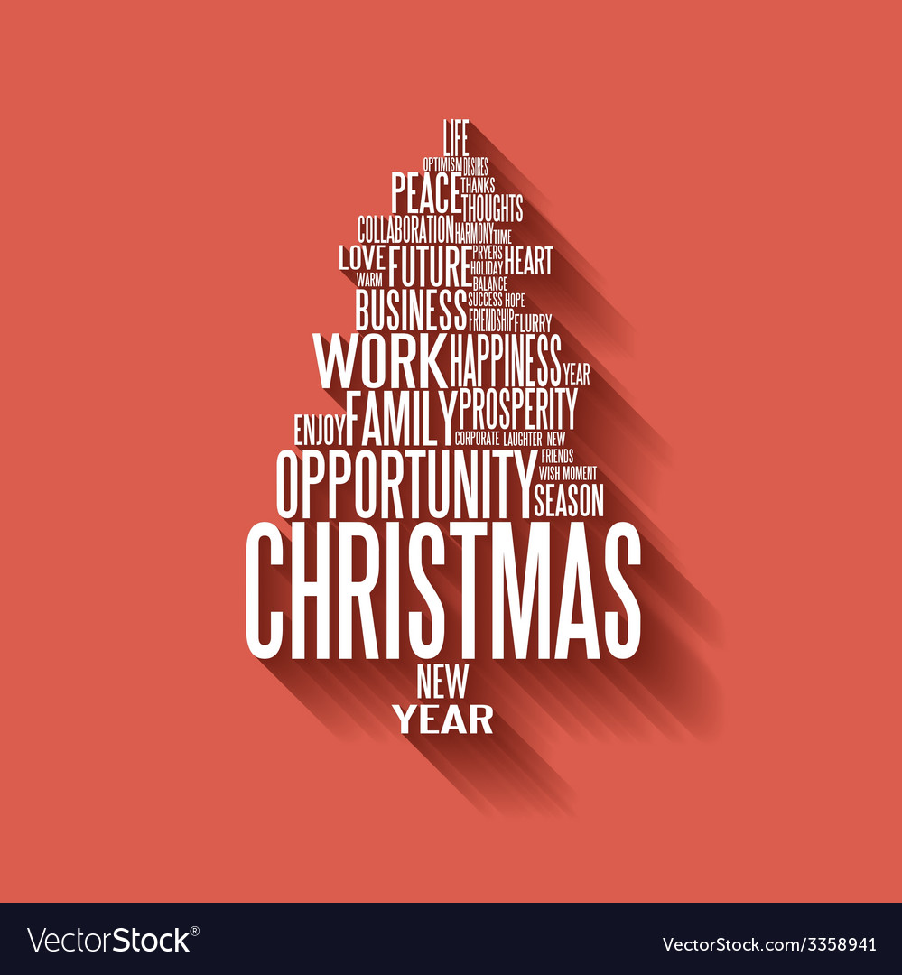 sample of resignation letter%0A christmas tree words