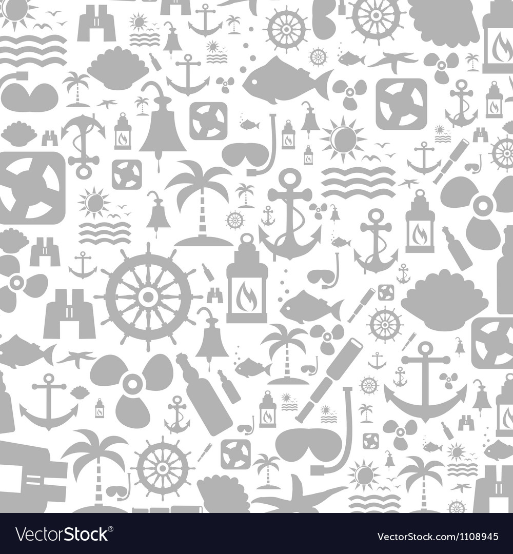 Sea a background vector image