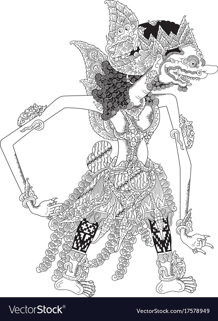Jimbaka vector image
