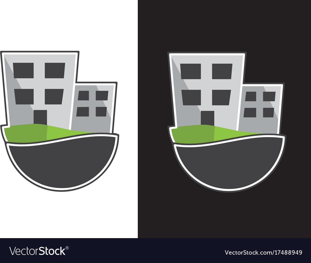 Logo company vector image