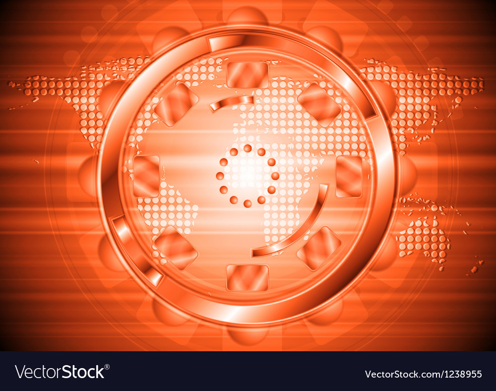 Elegant technology backdrop Vector Image