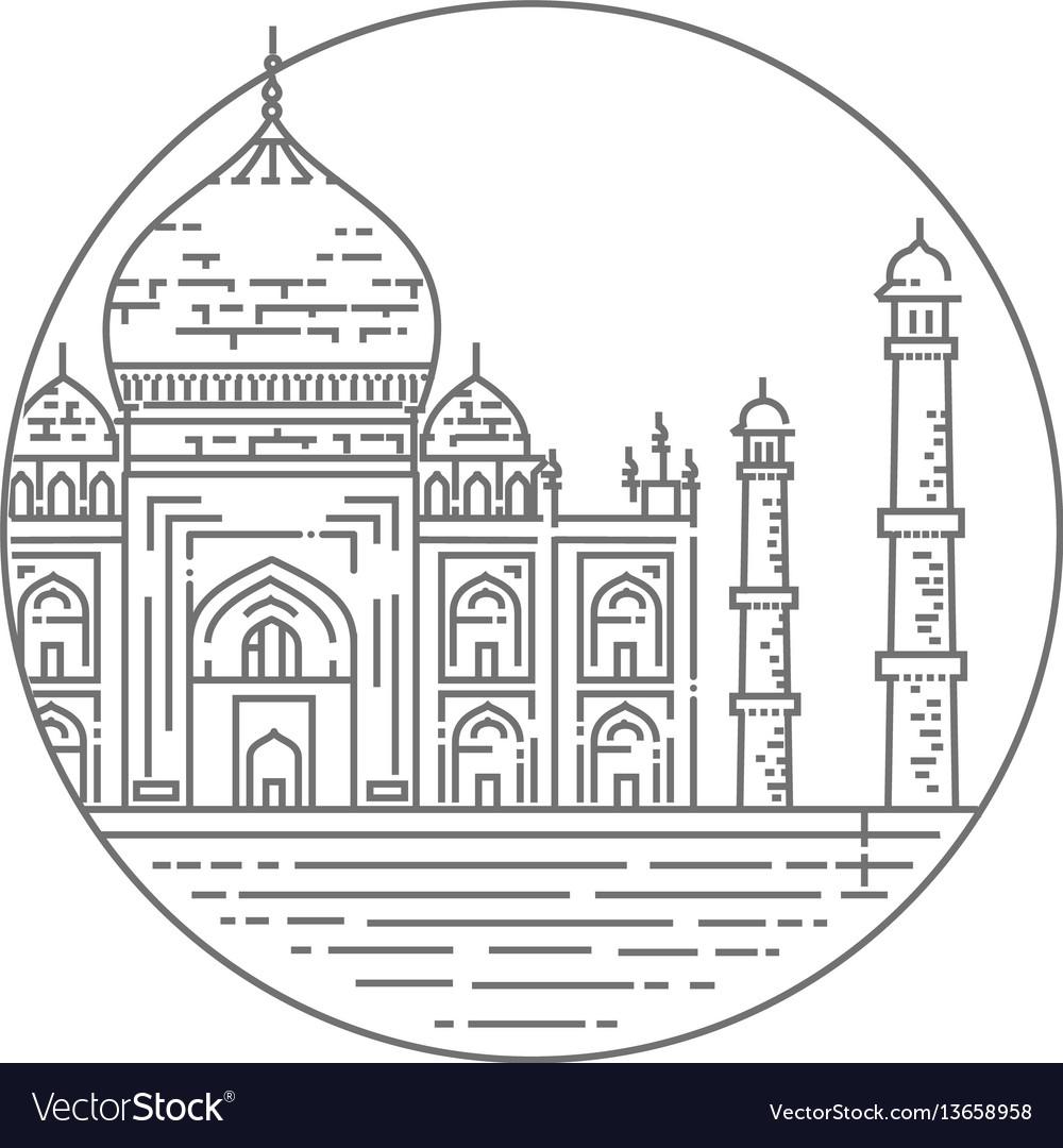 Berühmt Taj Mahal Ausmalbilder Fotos - Beispiel Business Lebenslauf ...