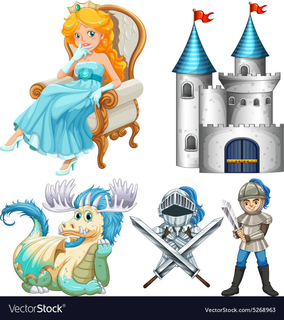 Fairy tales vector image