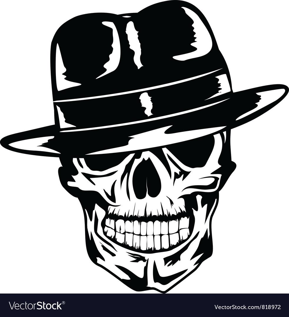 Gangster vector image