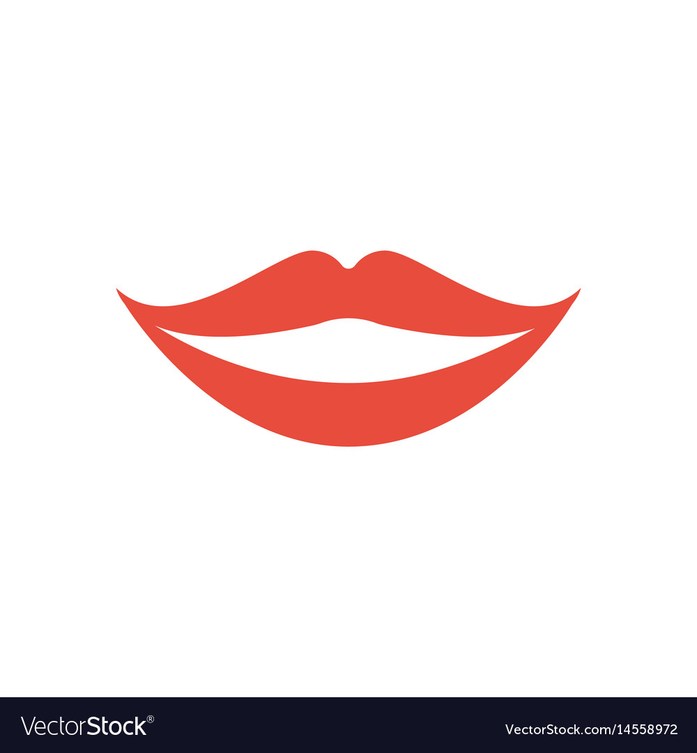 Smile vector image