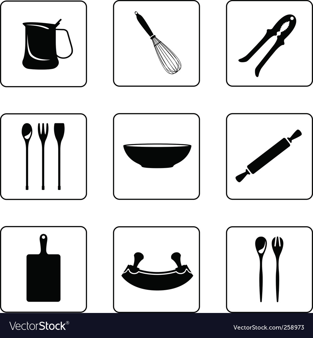 Other kitchenware vector image