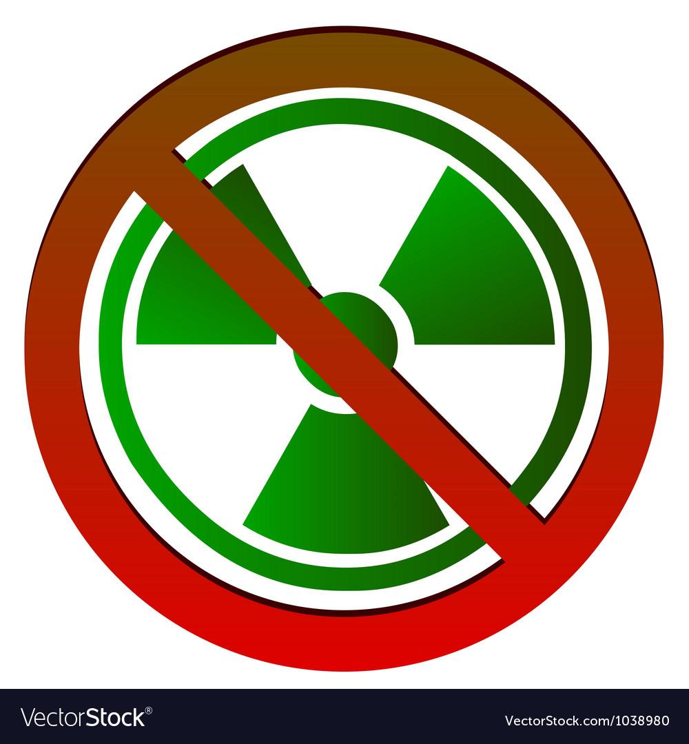 No radioactive symbol royalty free vector image no radioactive symbol vector image buycottarizona