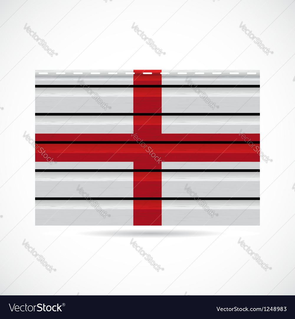 England siding produce company icon vector image