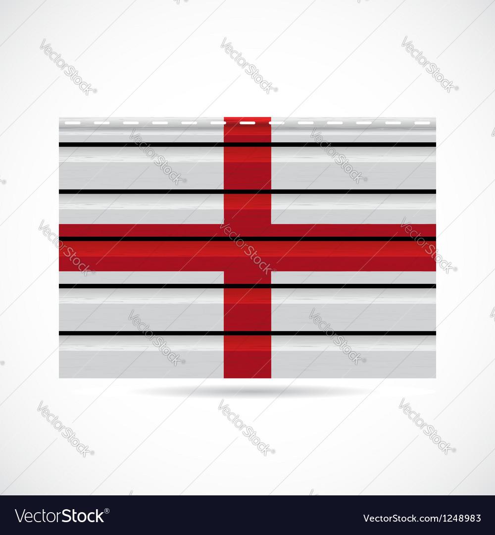 England siding produce company icon Vector Image