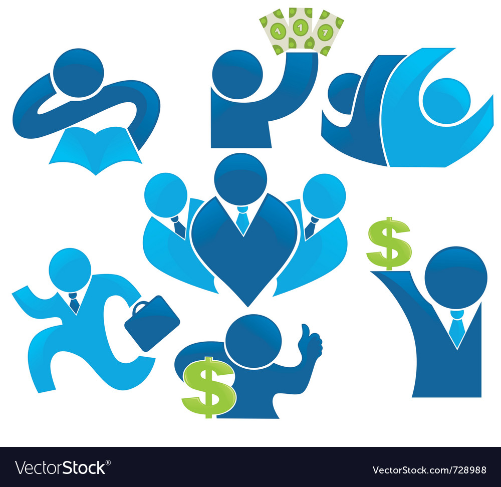 Make the money save the economy vector image