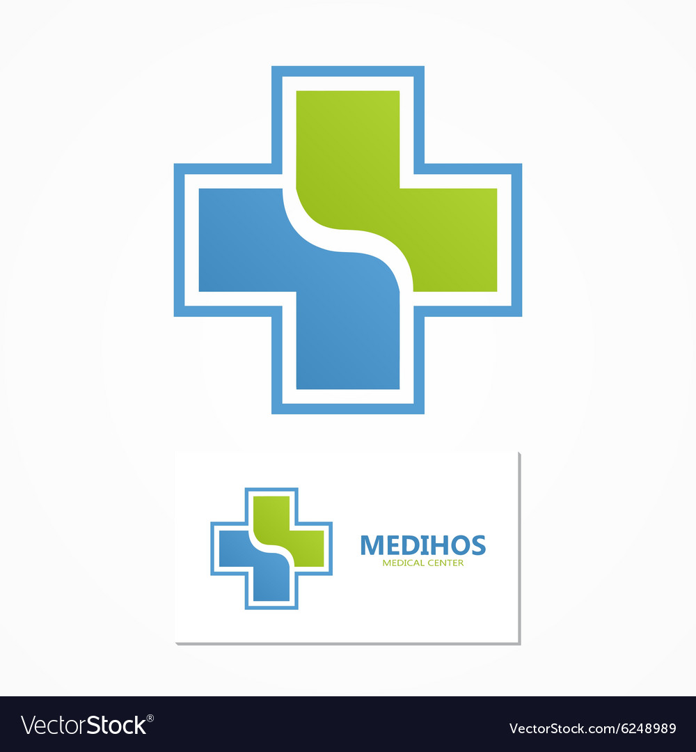 Medical logo Health logo vector image