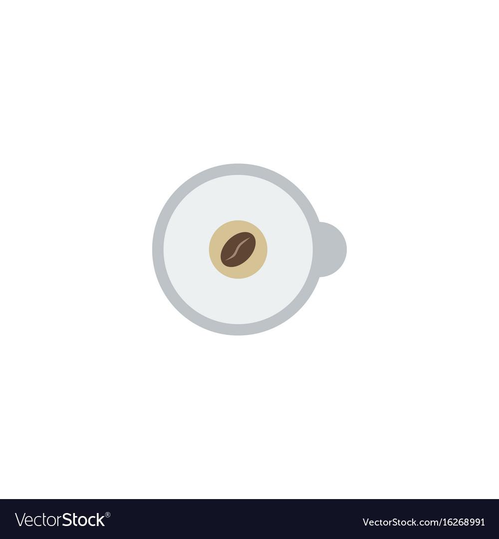 Flat icon espresso element of vector image