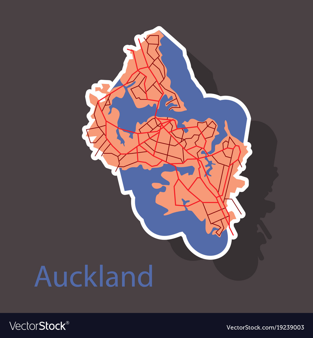 Map auckland new zealand sticker royalty free vector map auckland new zealand sticker vector image gumiabroncs Images