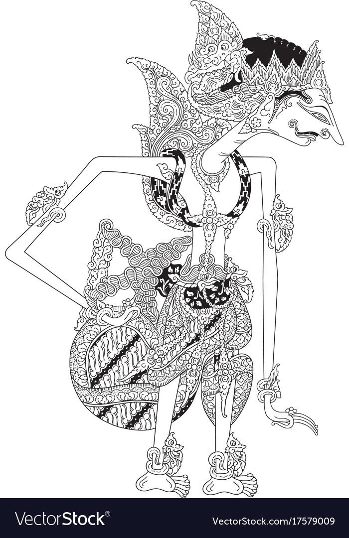 Jungkungmardeya vector image