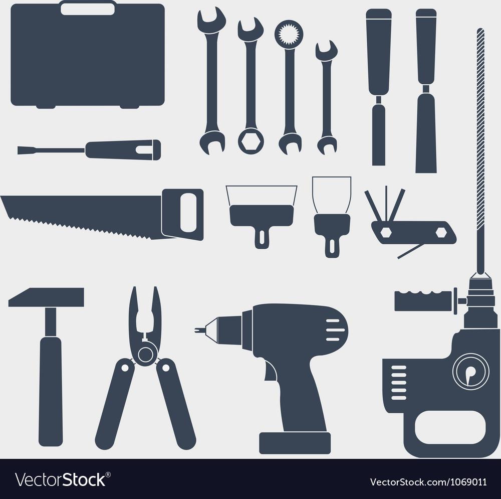Instrument set Vector Image