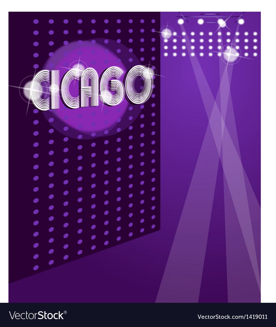 Night club background vector image