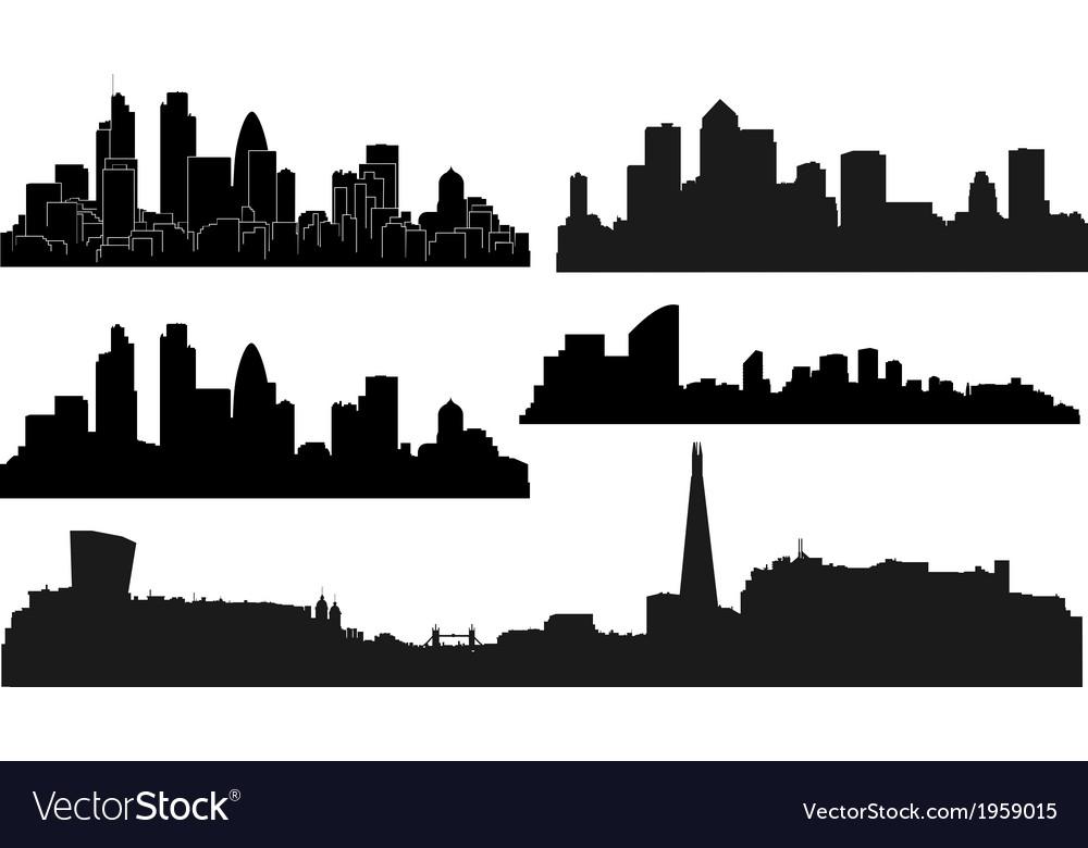 City london vector image