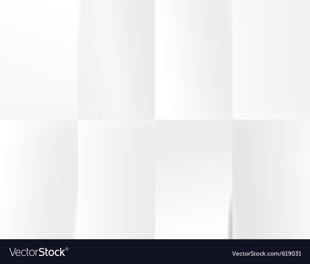 Folded paper background vector image