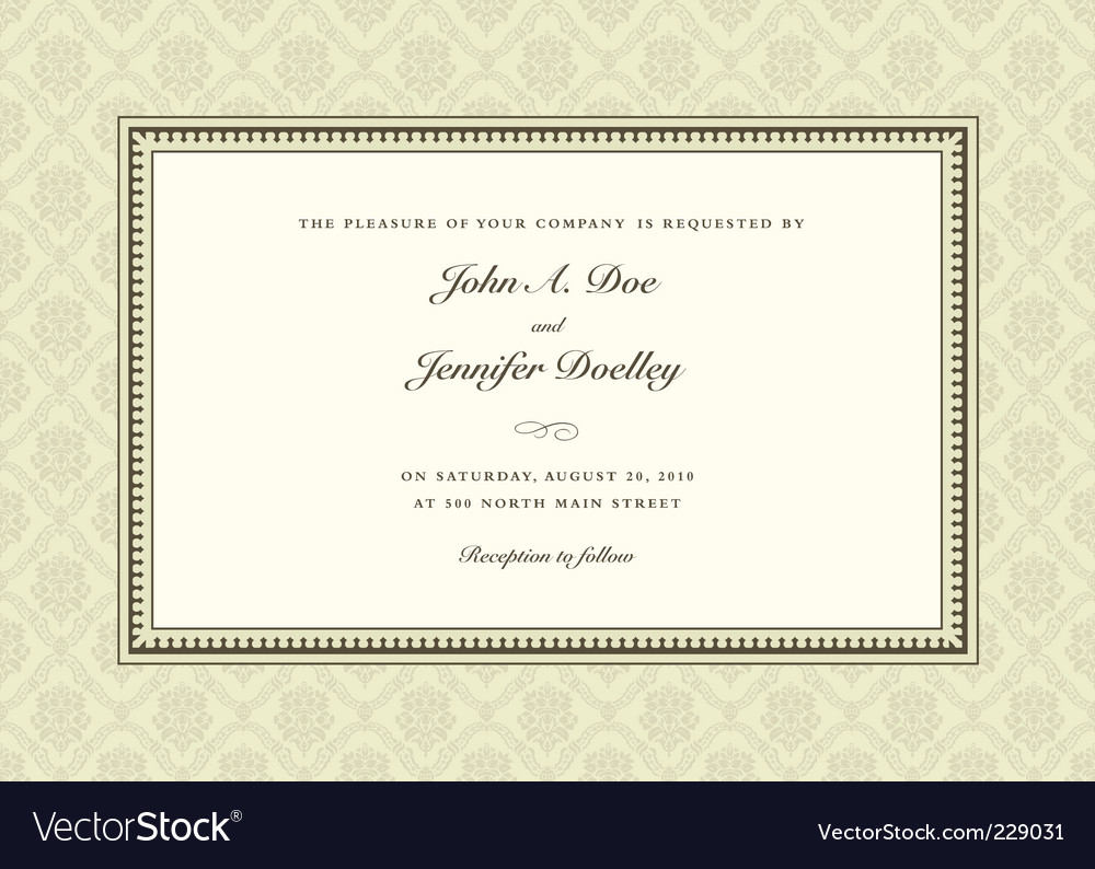 Formal frame royalty free vector image vectorstock formal frame vector image stopboris Gallery