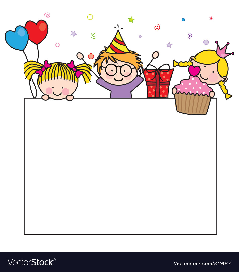 Birthday postcard royalty free vector image vectorstock birthday postcard vector image bookmarktalkfo Image collections