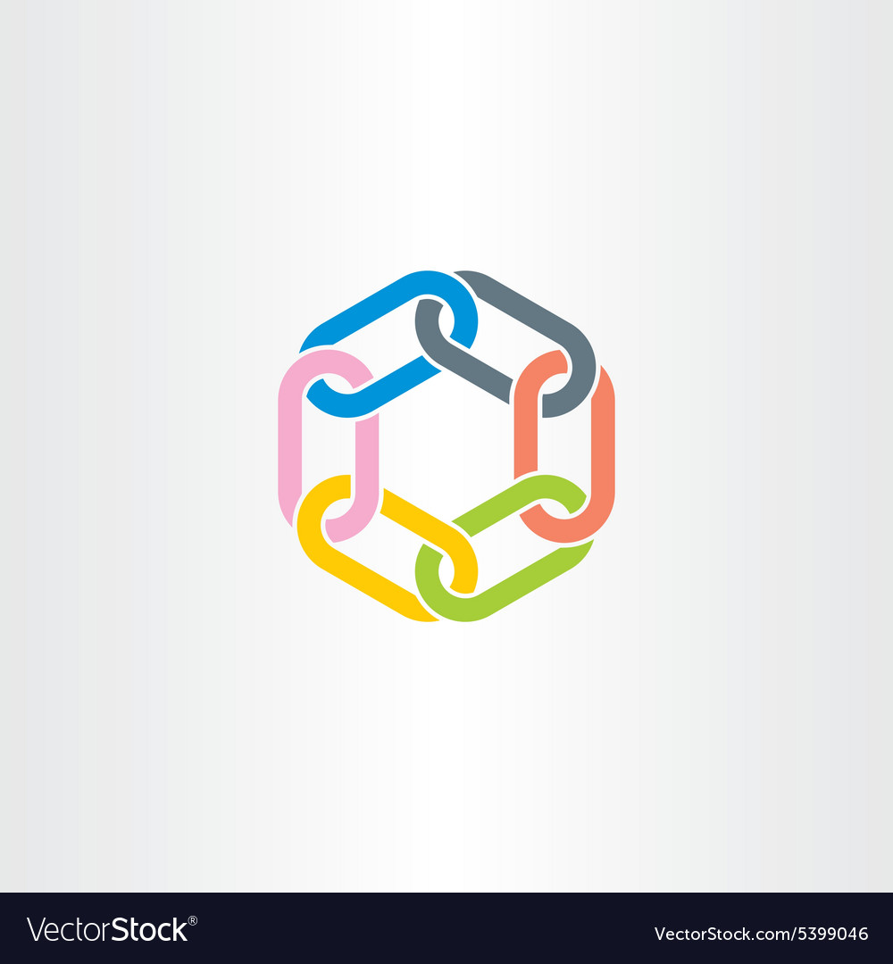 Chain Link Vector chain link symbol design element royalty free vector image