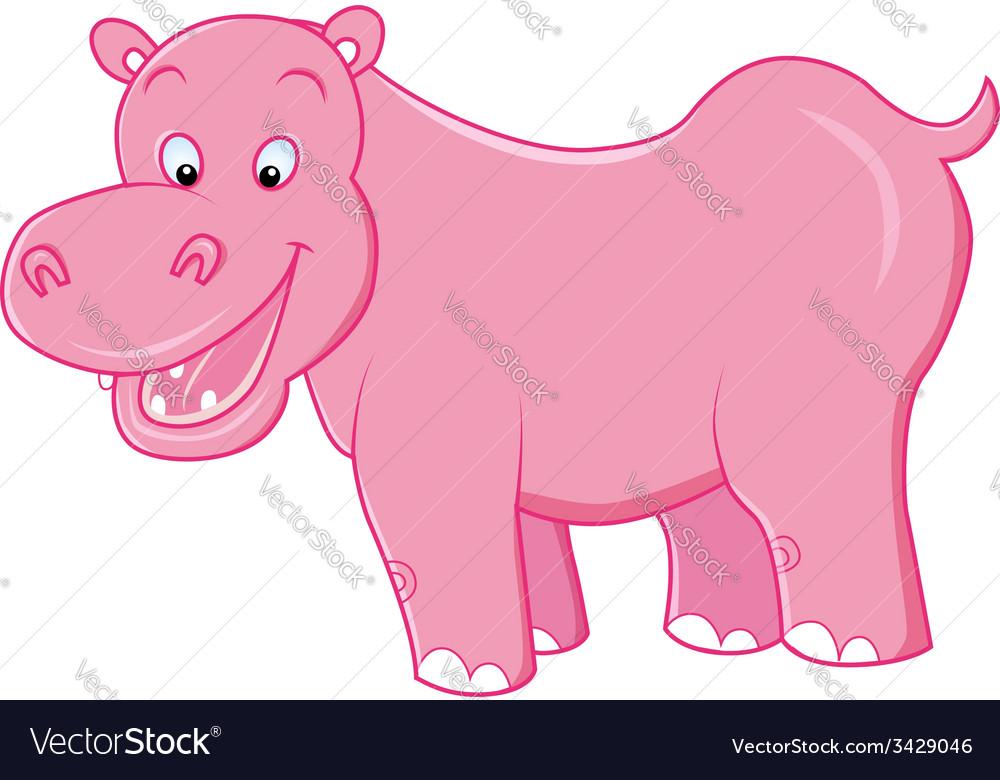 Hippo vector image
