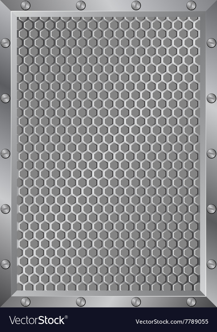 Grille vector image