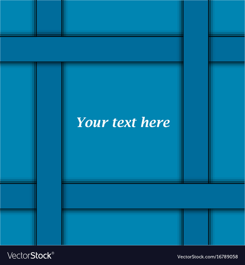 Cerulean abstract background vector image